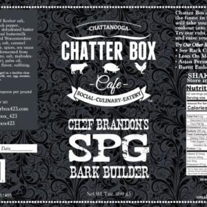 Chatter Box Cafe Chef Brandons SPG Bark Builder